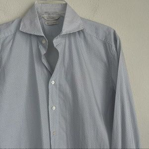 Suit Supply Pattern Button Down Egyptian Cotton
